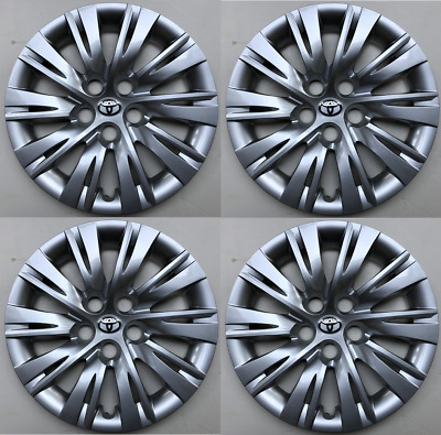 """4 x full set 16"""" Hubcaps Fits Toyota Camry 2012 2013 2014 Wheels Cover"""