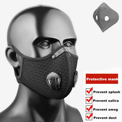 NEW Activated carbon respirator with filter, for Cycling Riding Outdoor