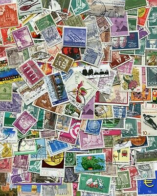 Germany Off-paper Stamp Lot Mix - 25 grams / 400 stamps