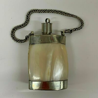 Antique Chinese Mother of Pearl  Snuff Bottle pendant