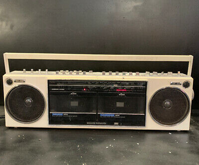 NATIONAL PANASONIC RX-D30 Stereo Retro Boombox Vintage Radio Cassette Recorder