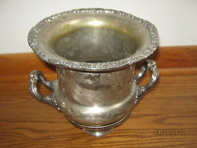 Pilgrim Silver Plated Champagne Ice Bucket Wine cooler
