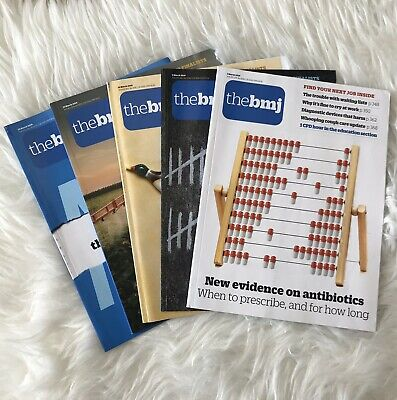 The BMJ March 2019 Magazines Full Month x 5 British Medical Journal Medicine