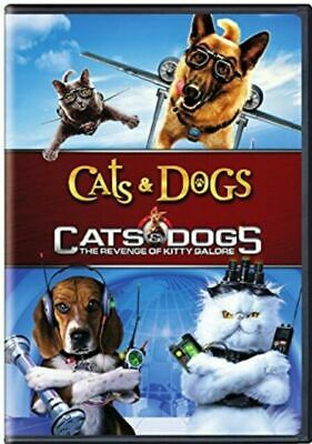 Cats And Dogs 1&2 [New DVD] 2 Pack, Eco Amaray Case