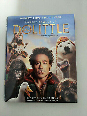 Dolittle - BLU RAY SIZE - SLIPCOVER ONLY - NO DISC