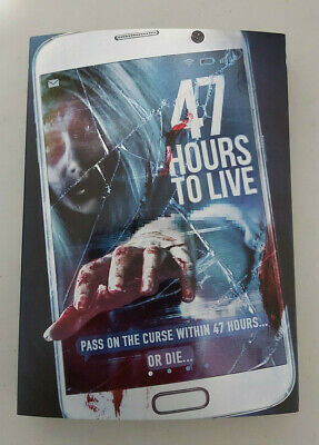 47 Hours to Live - DVD SIZE - SLIPCOVER ONLY - NO DISC
