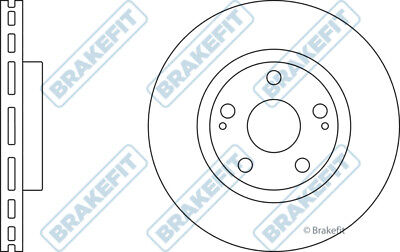 BBD4776 PREMIUM FRONT 255mm VENTED BORG BECK COATED BRAKE DISCS PADS SET