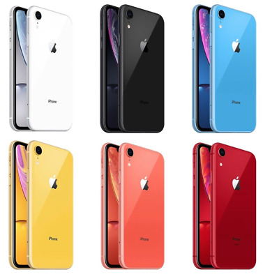 Apple iPhone XR - 64GB/128/256GB - UNLOCKED - Various Colours - All Grades