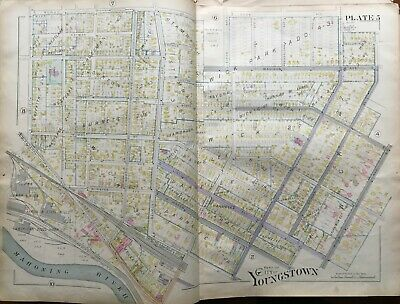 1899 Wick Ave Mansions Youngstown State University Ohio Griffith-Wicks Atlas Map