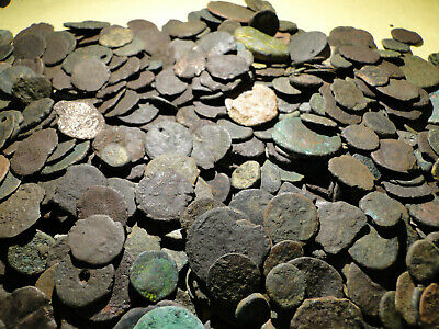 Job Lots of 20 Low Quality Roman Bronze Coins for Cleaning.