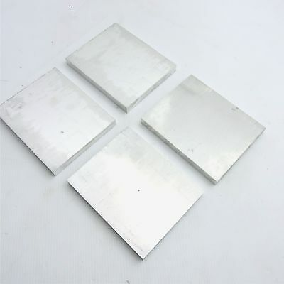 ".625"" thick 6061 Aluminum PLATE  4.625"" x 5.875"" Long QTY 4 Flat Stock sku137136"
