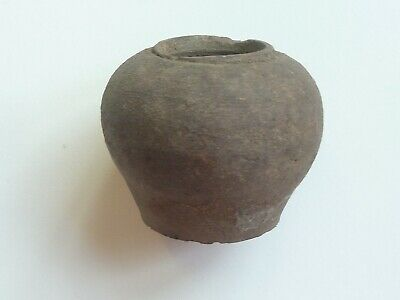 4cm TALL CHINESE SUNG / SONG DYNASTY ROUND BODIED JARLET
