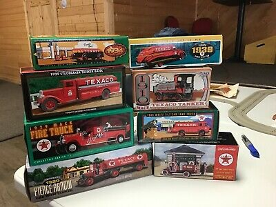 8 Ertl Collectibles Texaco Diecast Trucks  NIB's
