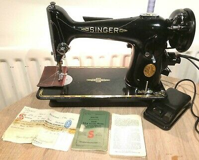 Vintage Singer 201K3 Electric sewing machine FOR LEATHER