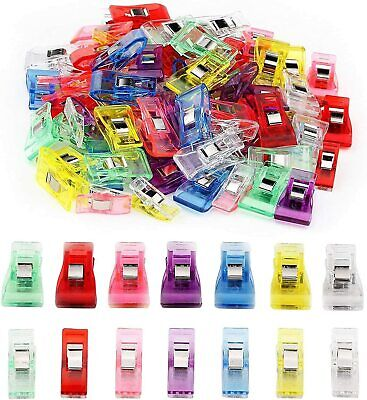 Magic Wonder Clips Plastic for Fabric Quilting Craft Sewing Knitting Crochet