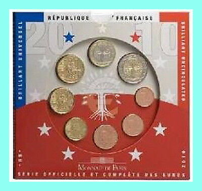 Promotion France Euro Annee 2010 Qualite B.u  Blister Neuf Lire L'annonce