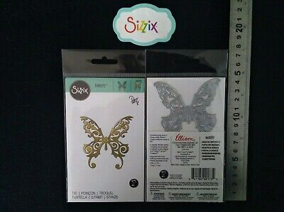 """Sizzix Thin Metal Die """"MAGICAL BUTTERFLY """" 660097 New Cuttlebug Compatible"""