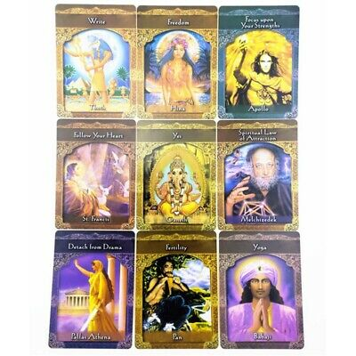 44PCS Ascended Masters Oracle Cards Doreen Virtue Card Deck Card Deck Prophecy