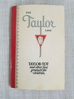 Reprint of the 1929 Taylor Tot Stroller Catalog