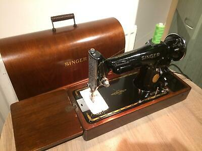 1936 Vintage Singer 201K2 Electric Potted Motor sewing machine