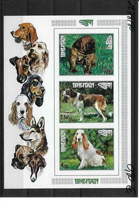 Bhutan 1973 Hunderasen Dog Block 55B MNH**