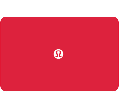 Lululemon Gift Card $25, $50, or $100 - Email Delivery