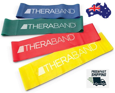 Genuine Theraband Exercise Band Resistance Loop(20.3 and 30.4) Bands Yoga Physio