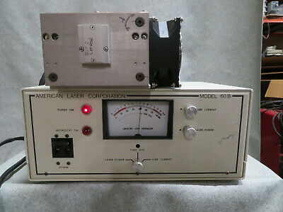 American Laser Corporation - 60B 100mW  Argon Laser with Power Supply