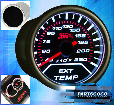 "2"" 52mm Jdm Exhaust Temperature Gauge Egt For Nissan 240Sx Sentra 350Z Altima"