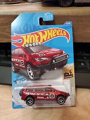 2020 Hot Wheels Case C RED Chrysler Pacifica #51