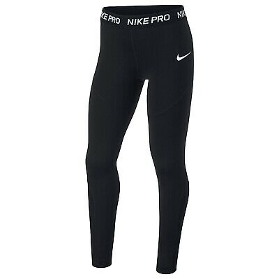 Nike Pro Tights Girls - Brand New With Tags - 13 Years (XLG) - Black