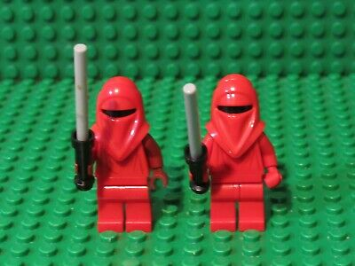Lego Imperial Royal Guard 75093 Dard Red Arms Star Wars Minifigures Lot of 4