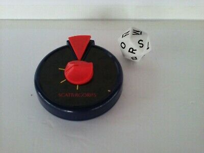 Scattergories Game Replacement Parts Timer and Die