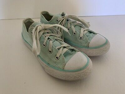 NEW Converse Youth Girl/'s Lace Up Low Top Madison Shoes White #655303F 167V tk