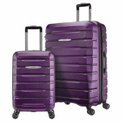 "Samsonite TECH TWO 2-Piece Hardside Luggage Set, Purple (27"" and 20"")"