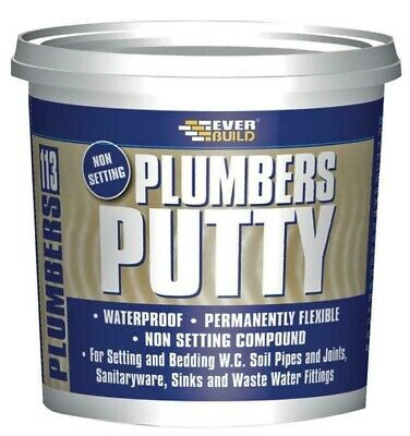 113 Non-Setting Plumbers Putty, 750g - EVERBUILD