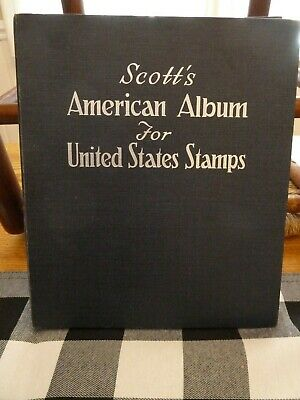 Excellent assortment  VINTAGE U.S. Stamps mounted on Scott pages American Album
