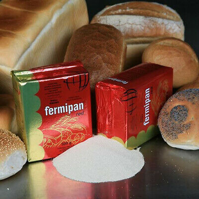 Fermipan Red 10g to 500g INSTANT Dried Yeast Bakers Bakery Bread  EXP 03/2022
