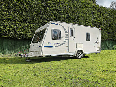 Bailey Pageant Series 7 Bordeaux - 2010 Touring Caravan - 4 Berth Fixed Bed