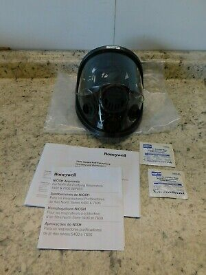 NEW Honeywell Full Face Respirator W/ Welding Attachment Small, 760008AS