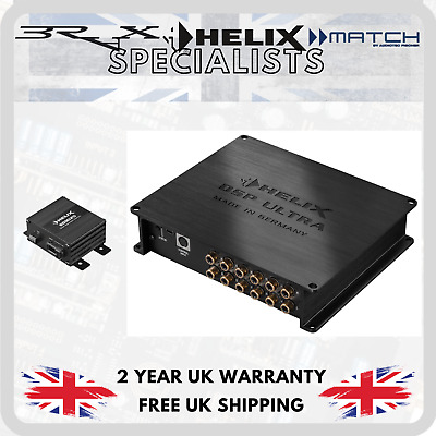 HELIX DSP Ultra by Audiotec Fischer 12 channel DSP Processor + SDMI25