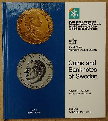 Coins and banknotes of Sweden Swiss Bank Corporation 1990