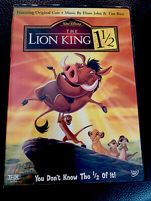 DISNEY'S The Lion King 1 1/2 (DVD, 2004) DVD
