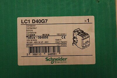 LC1 D40G7 Contactor