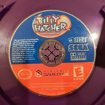 Billy Hatcher and the Giant Egg - Nintendo Gamecube 2003 - SEGA DISC ONLY TESTED