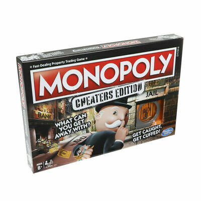 Monopoly Board Game Cheaters Edition. Toys and games