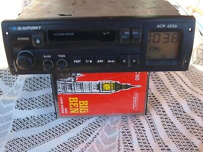 Blaupunkt ACR4230 Car Stereo AM FM Radio Cassette Player