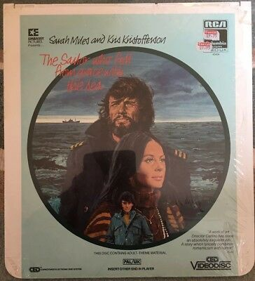 THE SAILOR WHO FELL FROM GRACE WITH THE SEA VideoDisc Brand New Sealed CED PAL