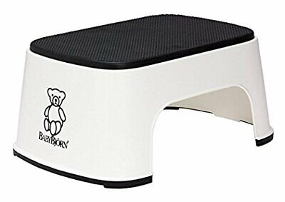 BABYBJORN Step Stool – White (White)