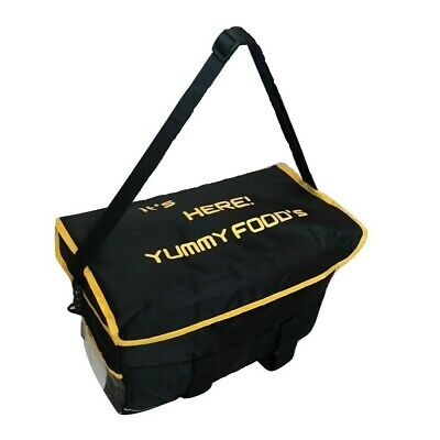 Heavy Duty Hot Food Delivery Takeway Bag 16x13x10inc Kebab.Indian.Chinese Foods